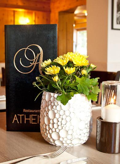 Restaurant Athene Speisekarte
