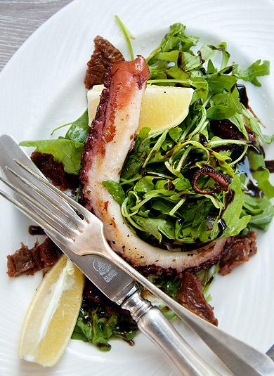 griechisches Essen - Oktopus