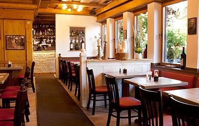 Restaurant Athene Gastraum