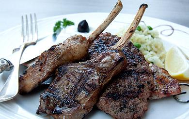 griechisches Restaurant Fleischteller