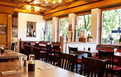 griechische Gaststätte Gastraum