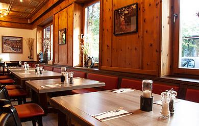 griechische Gaststätte Innenraum