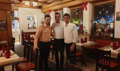 Weihnachtsfeier im Restaurant Athene