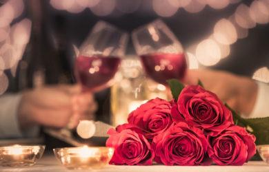 Valentinstag: romantisches Restaurant München